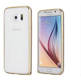 ClickAway Bumper Case for Samsung Galaxy S6(gold)