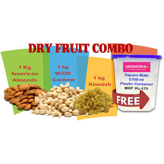 Dry Fruits combo with free container