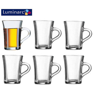 Luminarc Tempered Bock Tea Mug - 230 ML - 6 PC