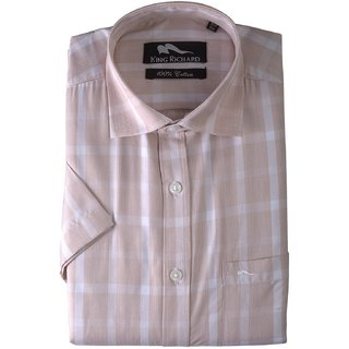 King Richard Men's Blended Cotton Formal Shirt