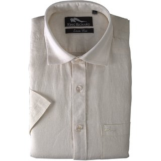 King Richard Men's Linen Formal Shirt