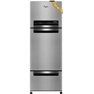 Whirlpool 330 Litres Frost Free Multi Door Refrigerator (FP 343D PROTTON ROYAL, Alpha Steel)