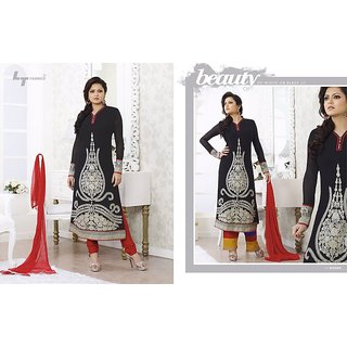 LT MADHUBALA BOLLYWOOD DESIGNER SALWAR KAMEEZ SUITS - STRAIGHT TYPE LADIES SUIT