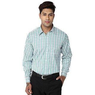 Mafatlal Cotton Blend Shirts - Green