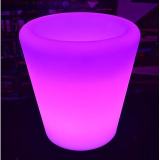 Led Flower Pots Pink