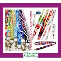 Multi-Colour Neck Lanyards (Like Company Name, Image Or Artwork) Qty : 50 Pc.