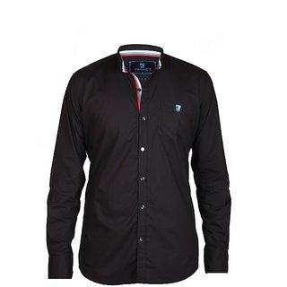 HasH Luxury Men's Black Shirt