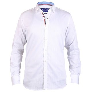 HasH Luxury Men's White Shirt