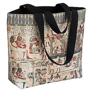 Egyptian Frieze Tote Bag