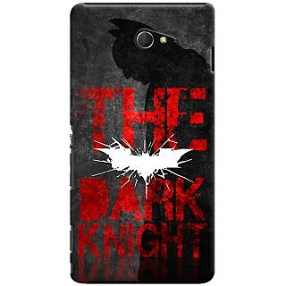 Kasemantra Batman The Dark Knight Case For Sony Xperia M2
