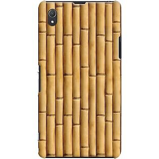 Kasemantra Bamboo Texture Case For Sony Xperia Z1