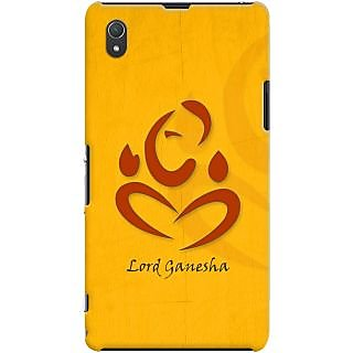 Kasemantra Ganpati Bappa Case For Sony Xperia Z1