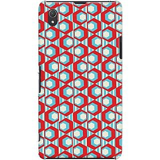 Kasemantra Geometric Pattern Case For Sony Xperia Z1