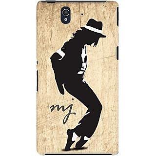 Kasemantra Michael Jackson Moonwalk Case For Sony Xperia Z