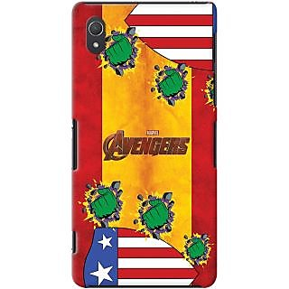 Kasemantra Captain Hulk Case For Sony Xperia Z2