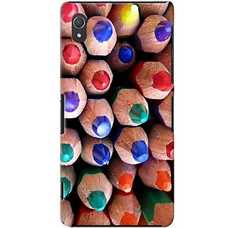 Kasemantra Colour Pencils Case For Sony Xperia Z2