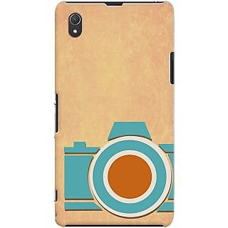 Kasemantra Retro Camera Case For Sony Xperia Z1