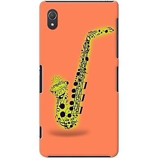 Kasemantra Saxophone In Pink Case For Sony Xperia Z2