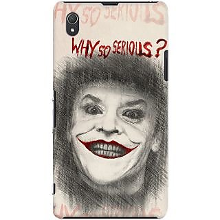 Kasemantra Why So Serious Case For Sony Xperia Z1