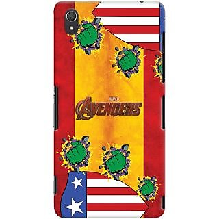Kasemantra Captain Hulk Case For Sony Xperia Z3