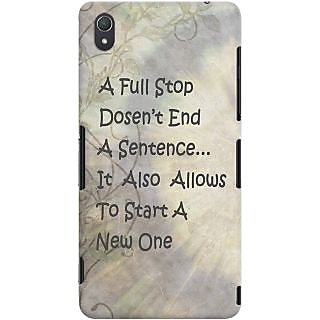 Kasemantra Full Stop Case For Sony Xperia Z3