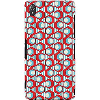 Kasemantra Geometric Pattern Case For Sony Xperia Z3