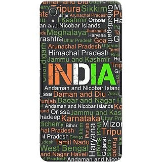 Kasemantra My India Typo Case For Sony Xperia Z3