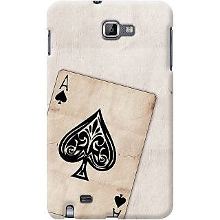Kasemantra Ace Of Spades Case For Samsung Galaxy Note N7000