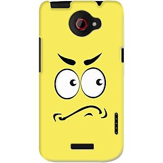 Kasemantra Angry Face Case For Htc One X