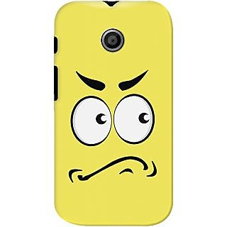 Kasemantra Angry Face Case For Motorola Moto E