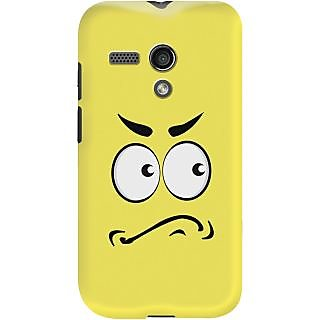 Kasemantra Angry Face Case For Motorola Moto G