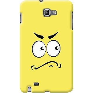 Kasemantra Angry Face Case For Samsung Galaxy Note N7000