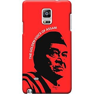Kasemantra Bhupen Hazarika Case For Samsung Galaxy Note 4 Sm N910