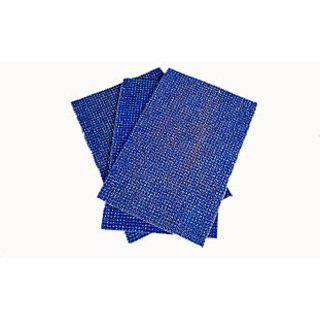 Blue Truf Door Mat Set Of 3 (R1121)