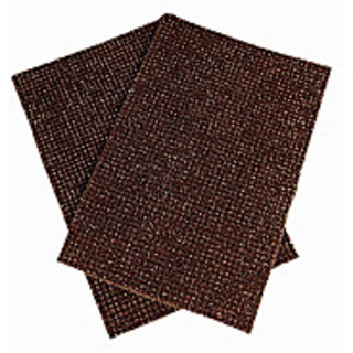 Brown Truf Door Mat Set Of 2 (R1127)