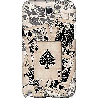 Kasemantra Card Family Case For Samsung Galaxy Note 2 N7100