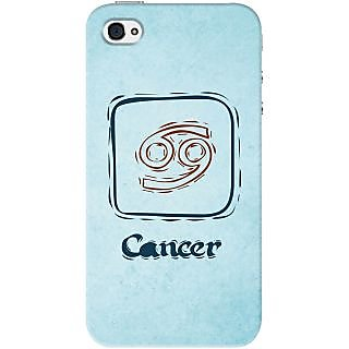 Kasemantra Creative Cancer Case For Apple Iphone 4-4S