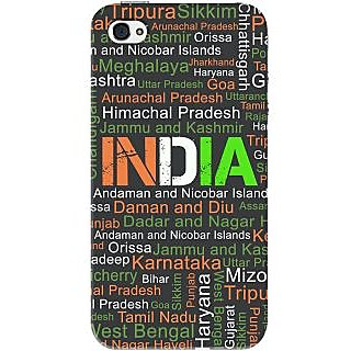 Kasemantra My India Typo Case For Apple Iphone 4-4S