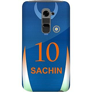 Kasemantra Sachin Jersey Case For Lg G2
