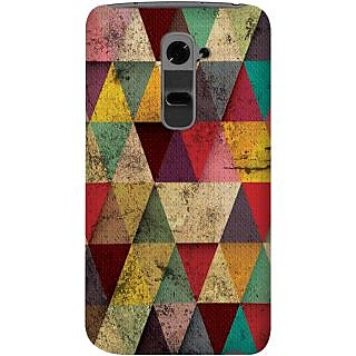 Kasemantra Triangles In Grunge Case For Lg G2