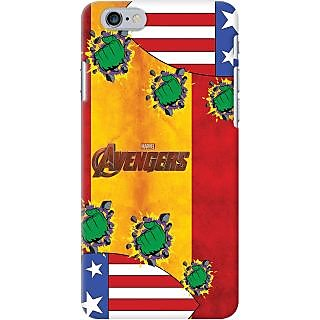 Kasemantra Captain Hulk Case For Apple Iphone 6