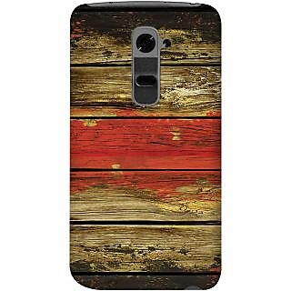 Kasemantra Textured Wood Case For Lg G2