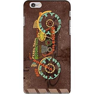 Kasemantra Bike Typography Case For Apple Iphone 6 Plus