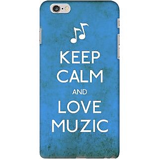 Kasemantra Keep Calm And Love Muzic Case For Apple Iphone 6 Plus