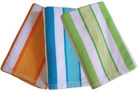 K Decor Beautiful Bath Towel  set of 3  (BT-01)