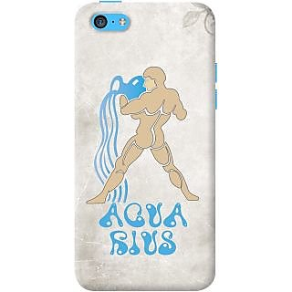 Kasemantra Aquarius Case For Apple Iphone 5C