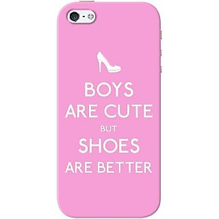 Kasemantra Boys Are Cute But Case For Apple Iphone 5-5S