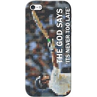 Kasemantra The God Of Cricket Case For Apple Iphone 5-5S