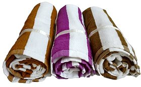 K Decor Beautiful Bath Towel  set of 3  (BT-02)