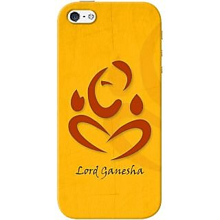 Kasemantra Ganpati Bappa Case For Apple Iphone 5-5S
